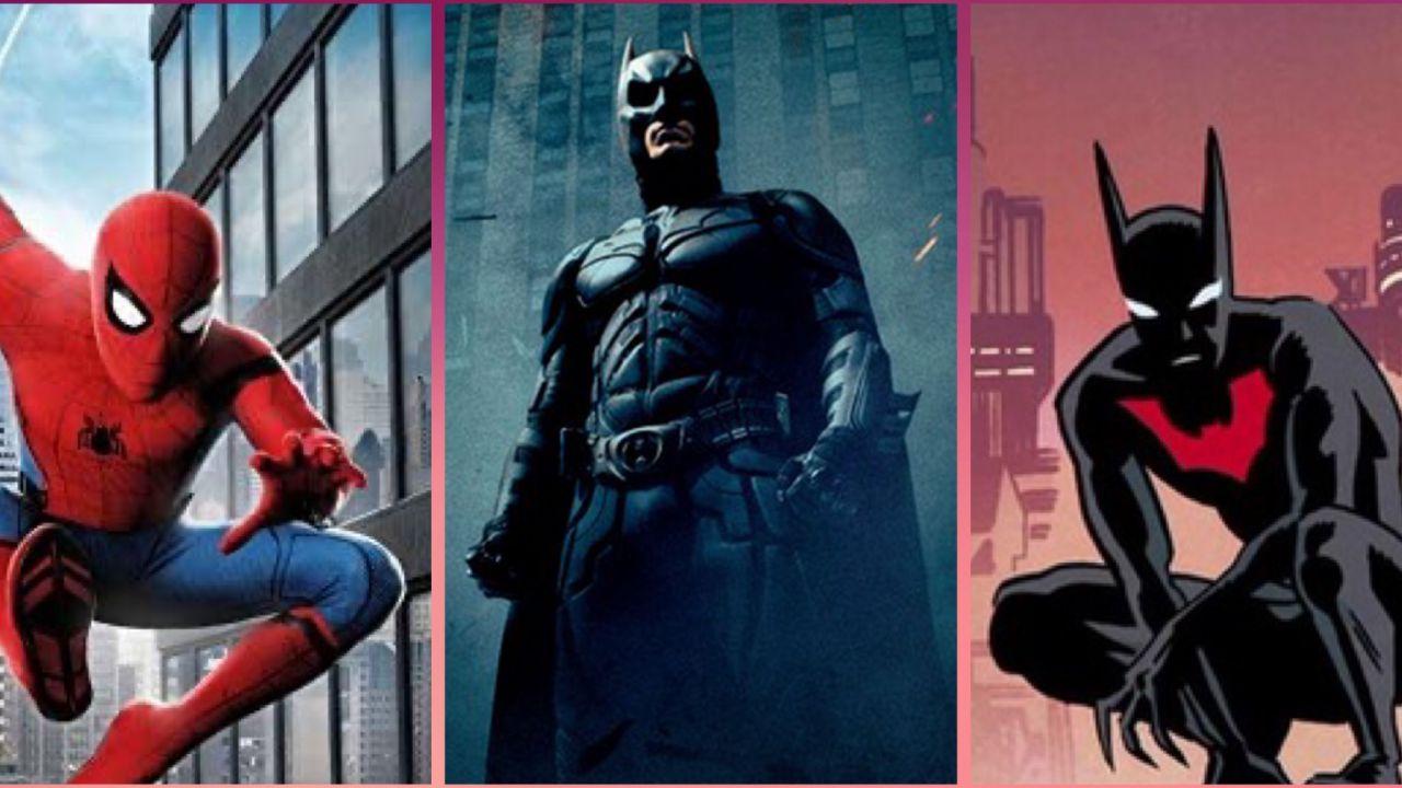 Spider-Man, Il Cavaliere Oscuro, Batman Beyond: guardate che poster da paura