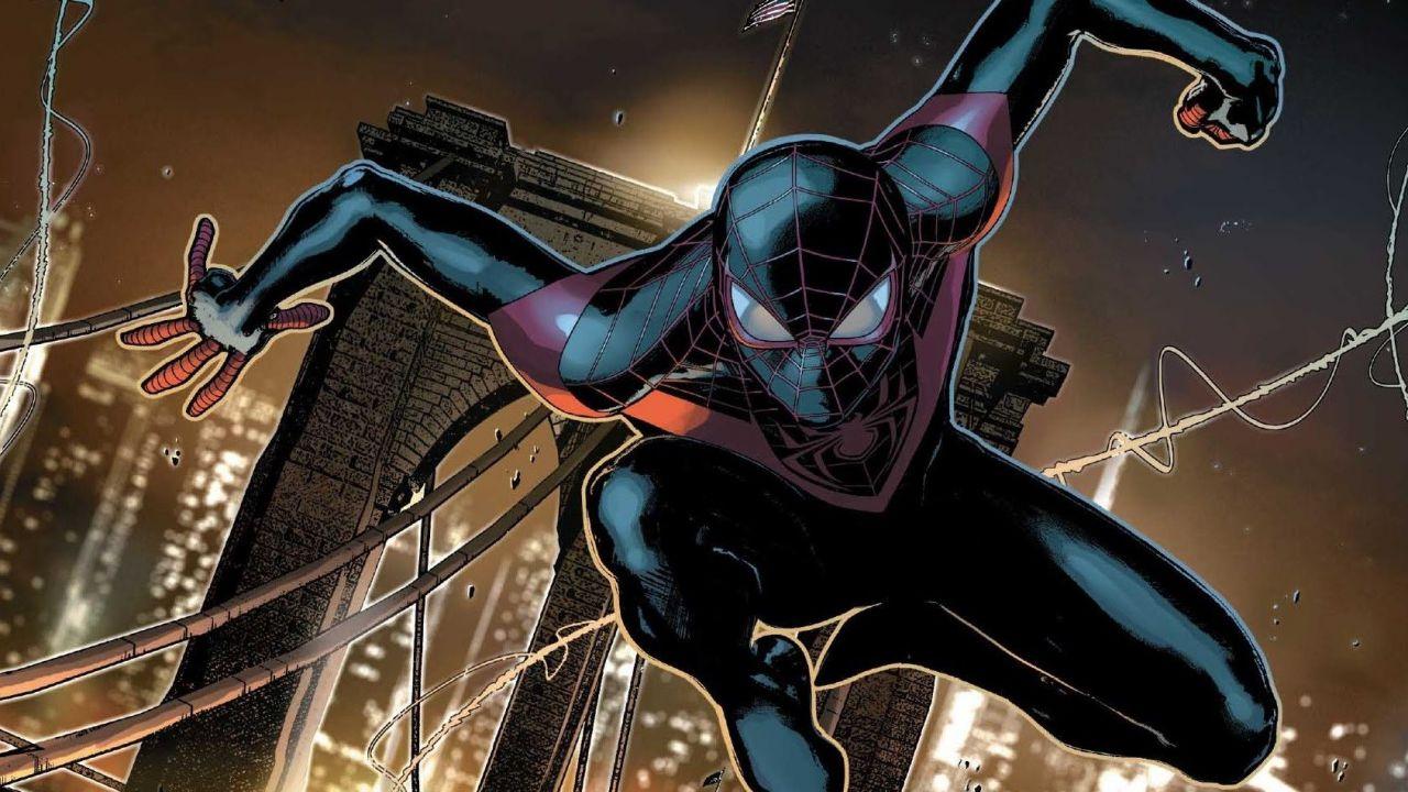 Spider man il film animato primo poster per la pellicola