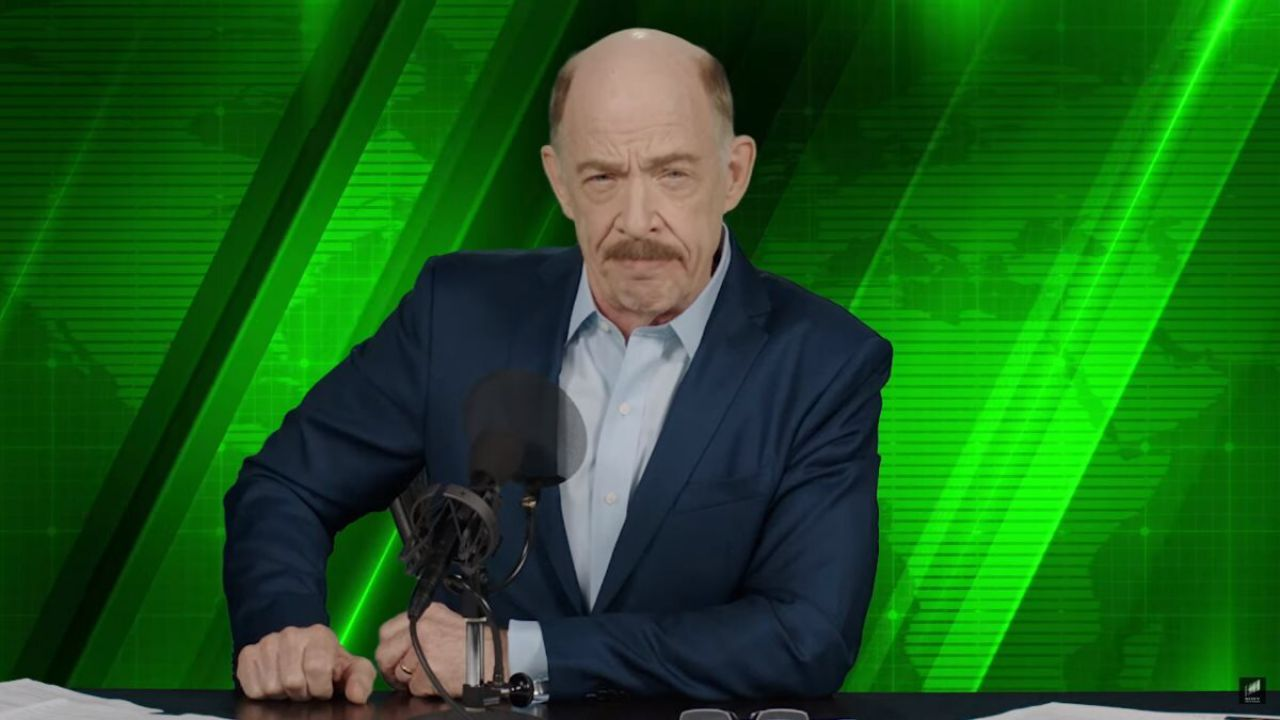 Spider-Man: J.K. Simmons critica il cambio di look di J. Jonah Jameson in Far From Home