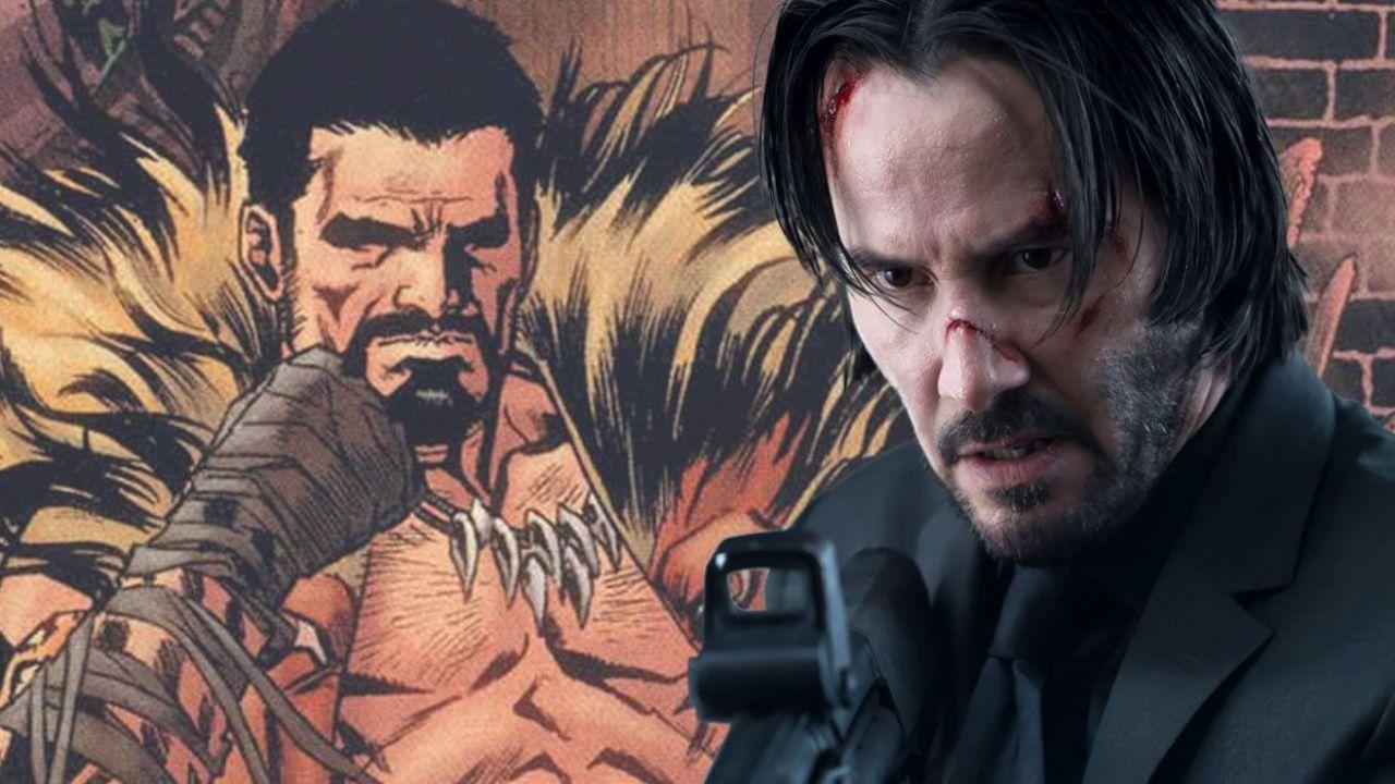 Spider-Man, Keanu Reeves è Kraven il Cacciatore in questa epica fan art!