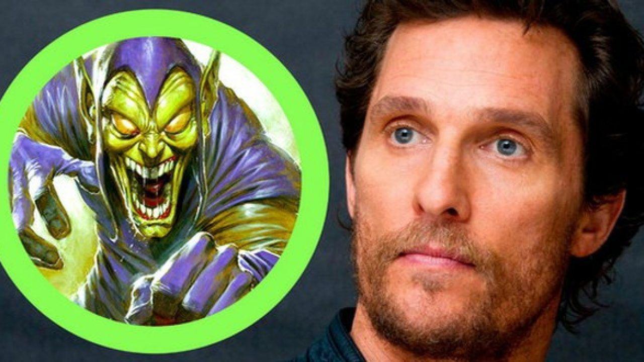 Spider-Man: Matthew McConaughey è Goblin in questa magnifica fan art