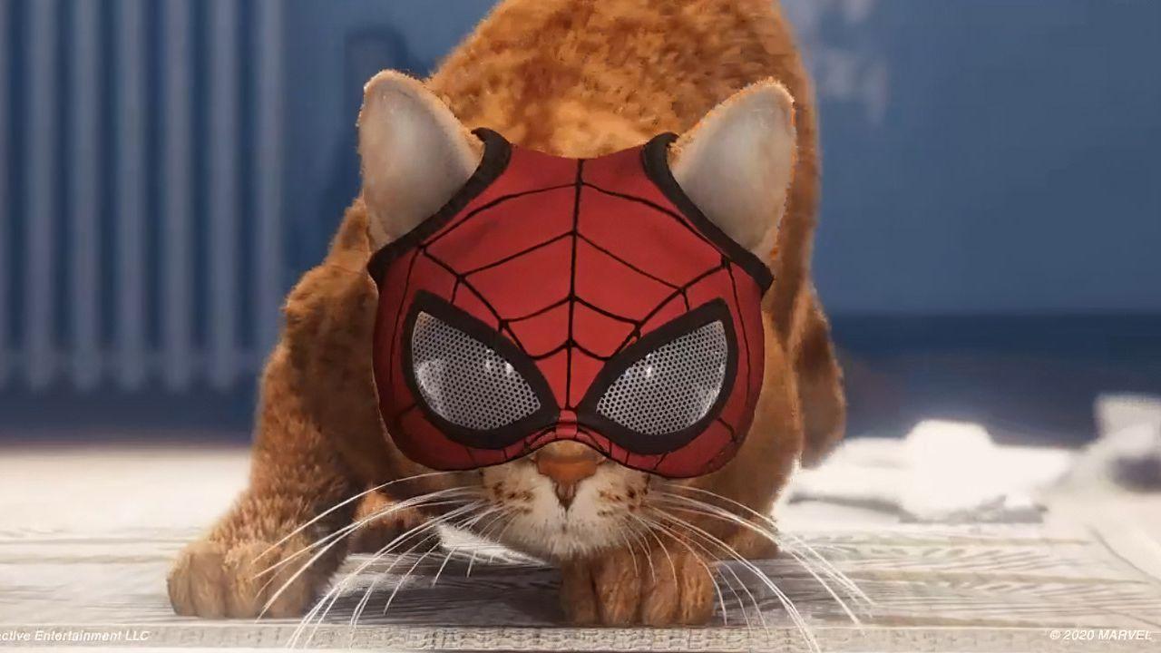 Spider-Man Miles Morales sta arrivando: Spider-Cat si appropria del meme Shaq Shake!