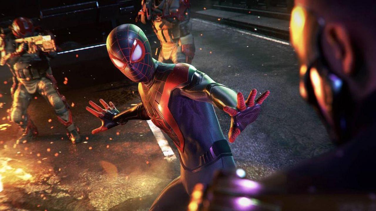 Spider-Man Miles Morales in testa alla classifica UK grazie ai restock frequenti di PS5