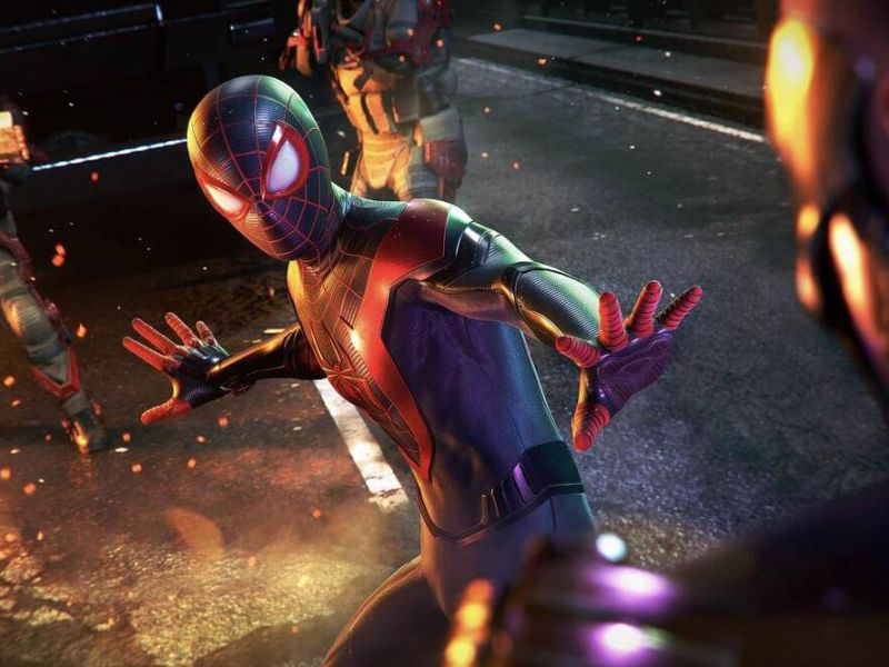 Spider-Man Miles Morales tops the UK charts thanks to frequent PS5 restocks