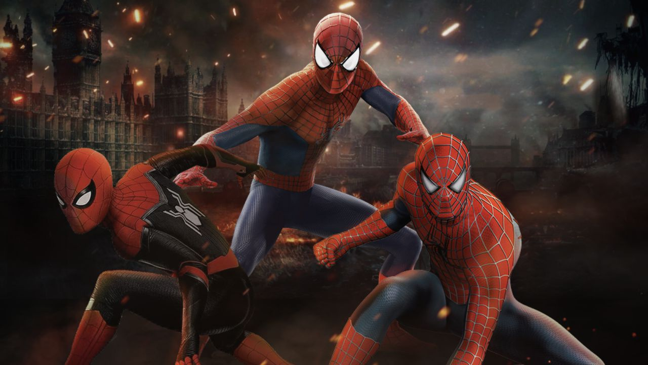 Spider-Man, il multiverso live action prende vita in un nuovo fan poster