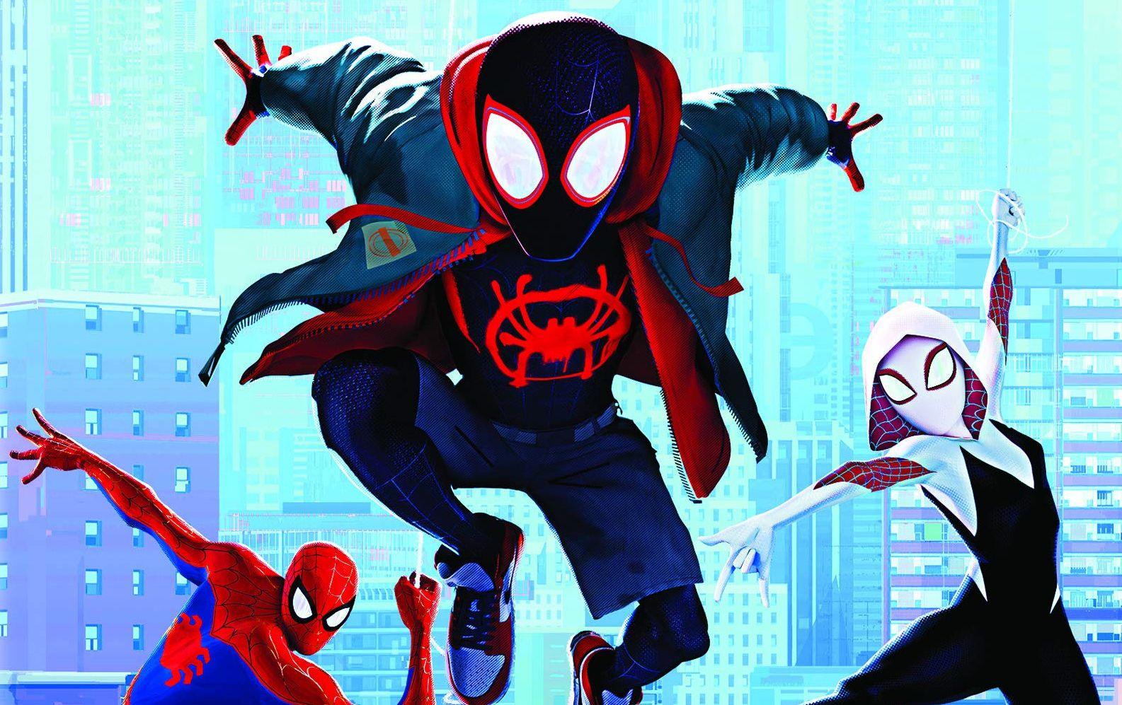 Spider Un Nuovo Universo Arriva Home Video Migliori Pagine Da Colorare