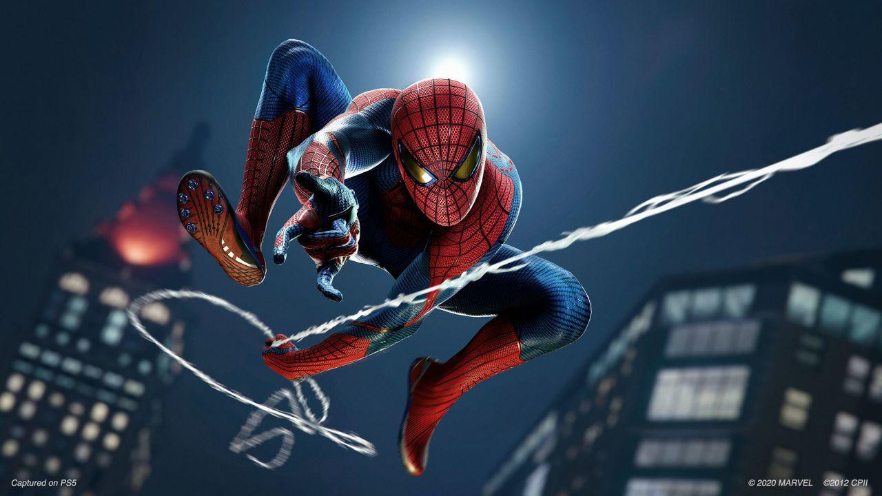 Spider-Man Remastered PS5 appare sul PlayStation Store come acquisto separato