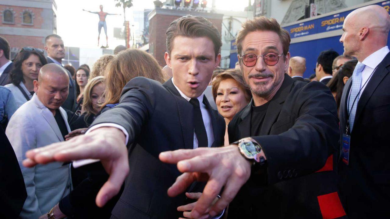 Spider-Man: No Way Home, Robert Downey Jr:'Tom Holland è perfetto come Peter Parker'