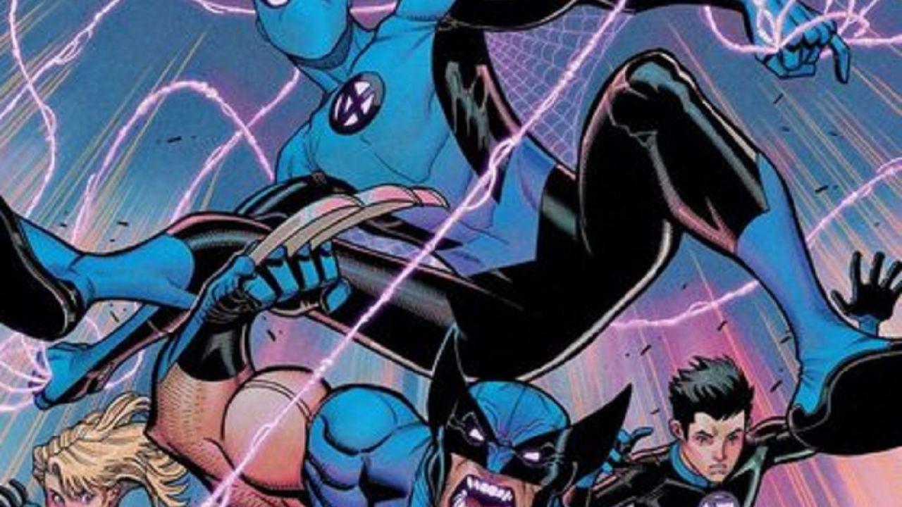 Spider-Man e Wolverine arrivano a supporto de I Fantastici 4 nel nuovo numero