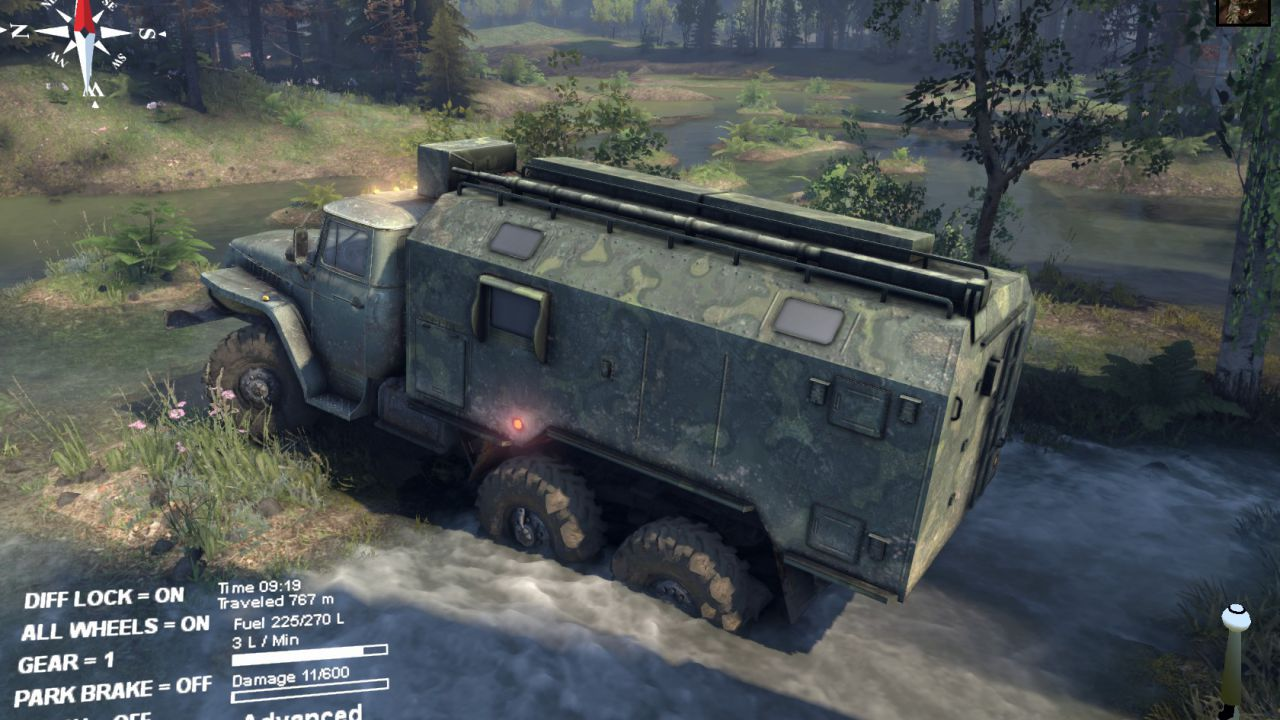 Spintires raggiunge quota 100.000 download