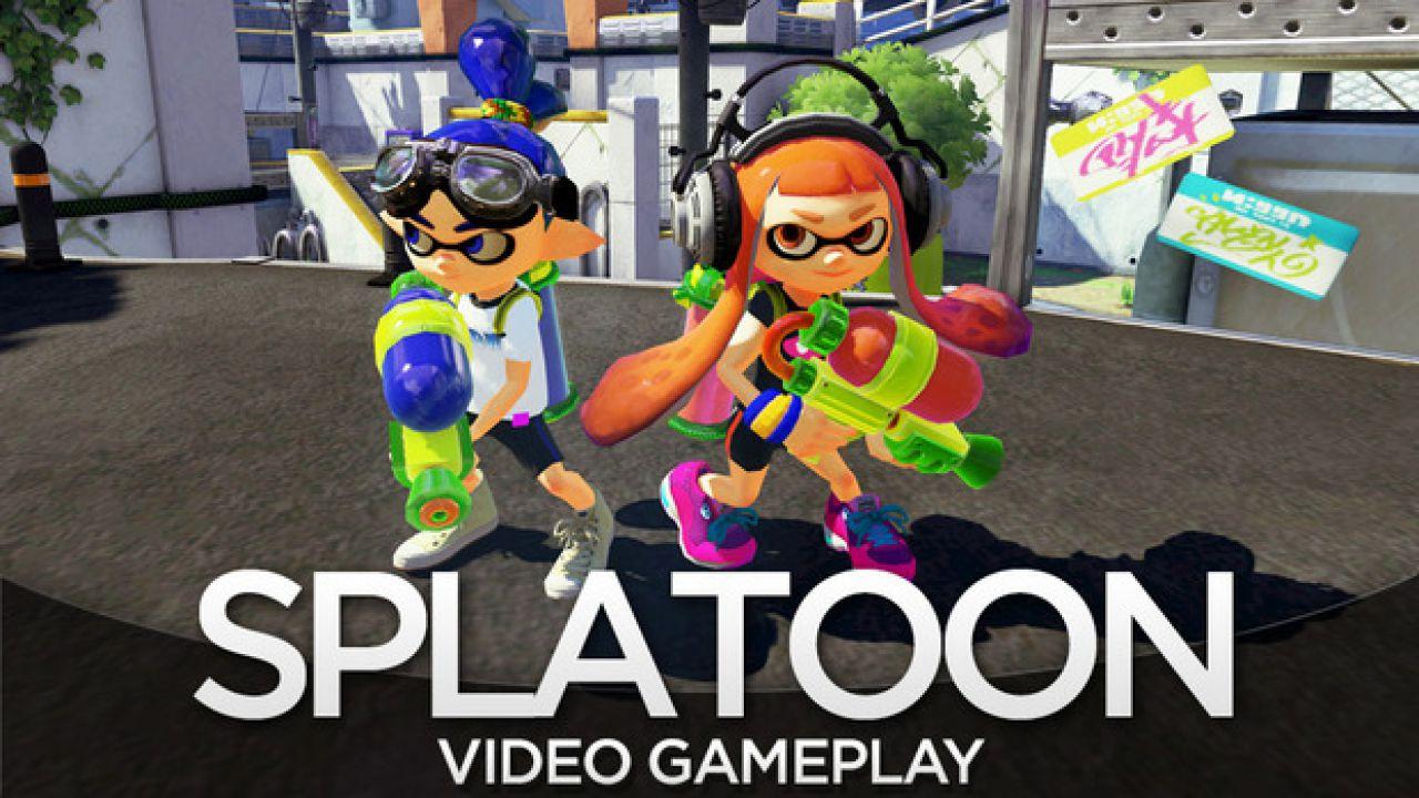 Splatoon, ecco tre nuovi video gameplay
