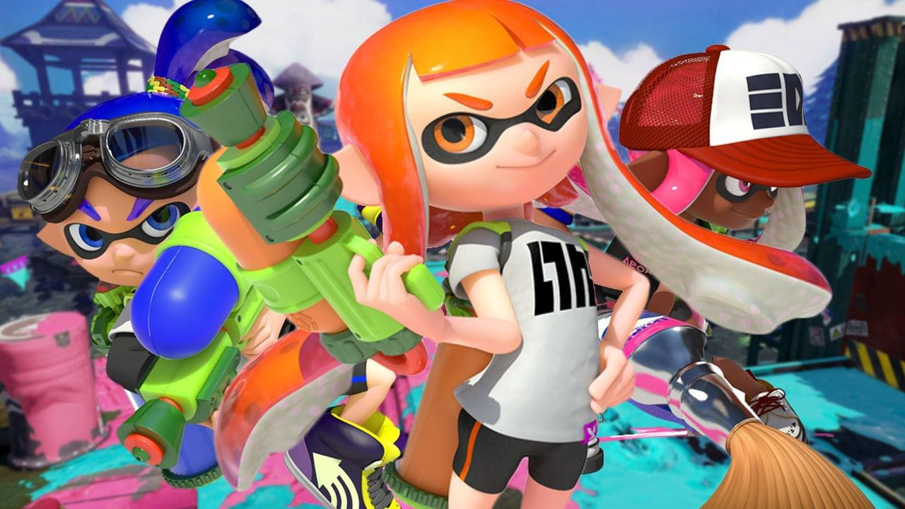 Splatoon resiste al primo posto della classifica giapponese