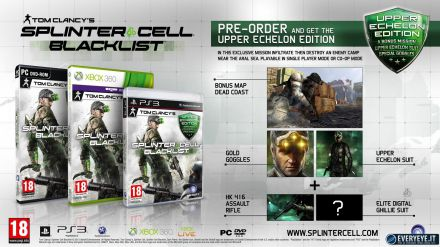 Splinter Cell Blacklist: disponibile l'Homeland pack
