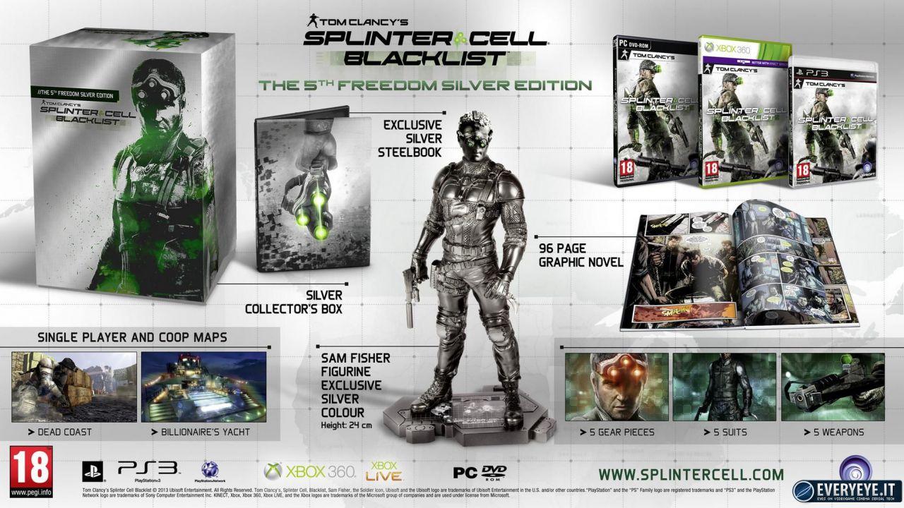 Splinter Cell Blacklist scontato su Steam