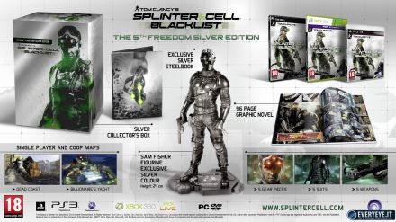Splinter Cell Blacklist scontato su Steam