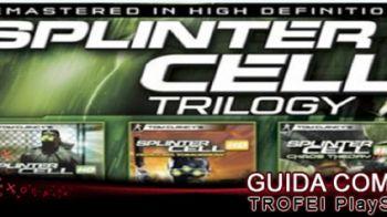 Splinter Cell Trilogy: disponibile la guida ai trofei