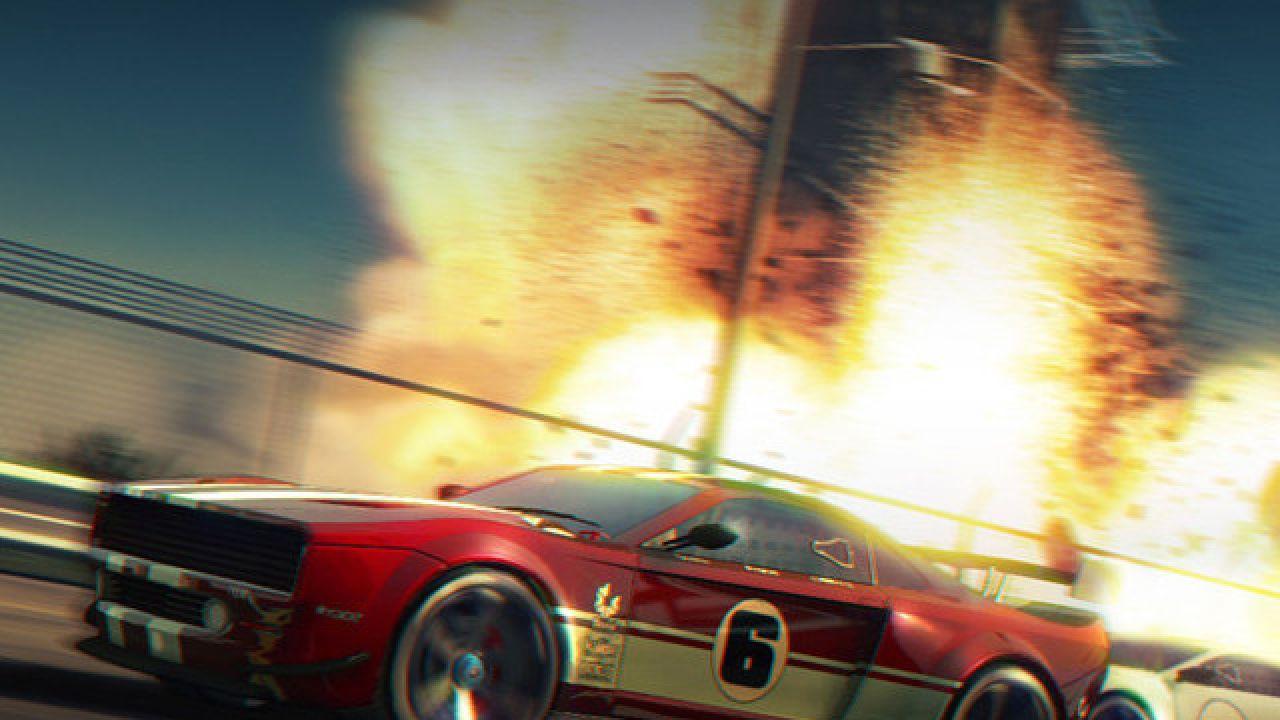 Split Second: Velocity: trailer di lancio per la versione PlayStation Portable