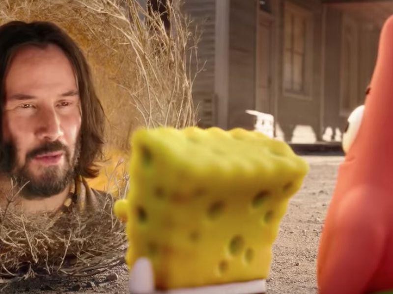 SpongeBob - Amici in fuga, ecco come Keanu Reeves si unì al film