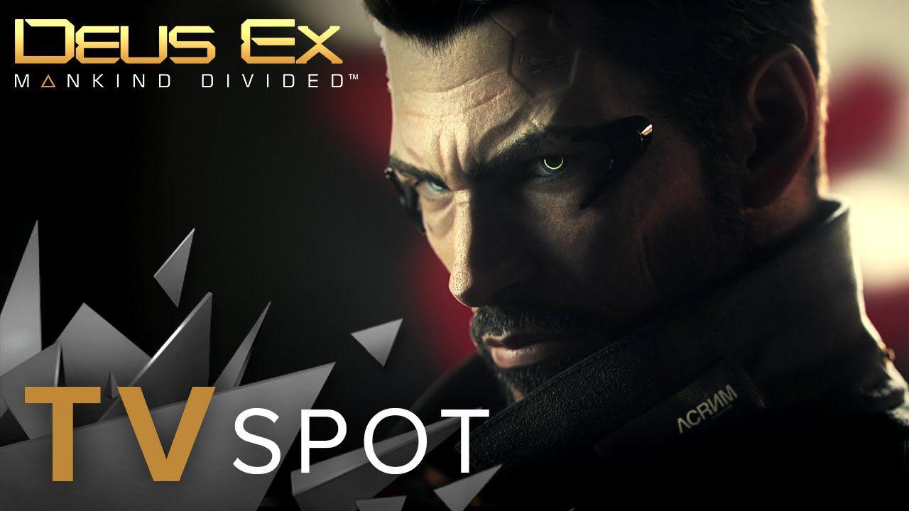 Deus Ex: Mankind Divided criticato per lo slogan