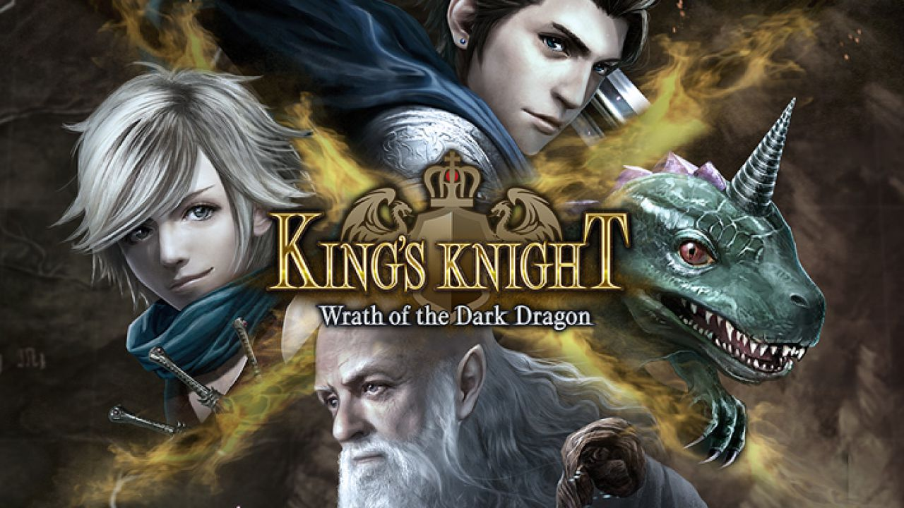 Square-Enix annuncia King's Knight: Wrath of the Dark Dragon