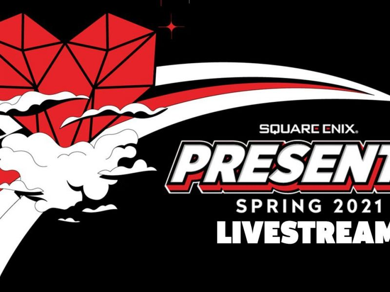 Square Enix Presents: Watch it with us today on Twitch, pre show from 5pm