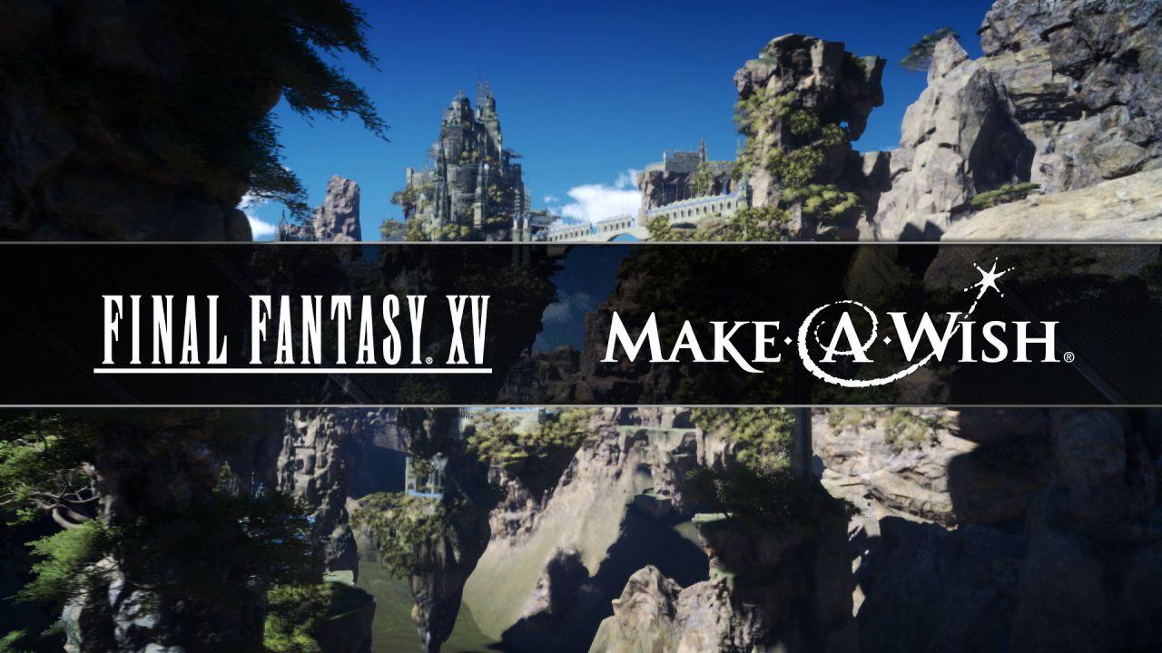 Square Enix stringe una partership con Make-a-Wish