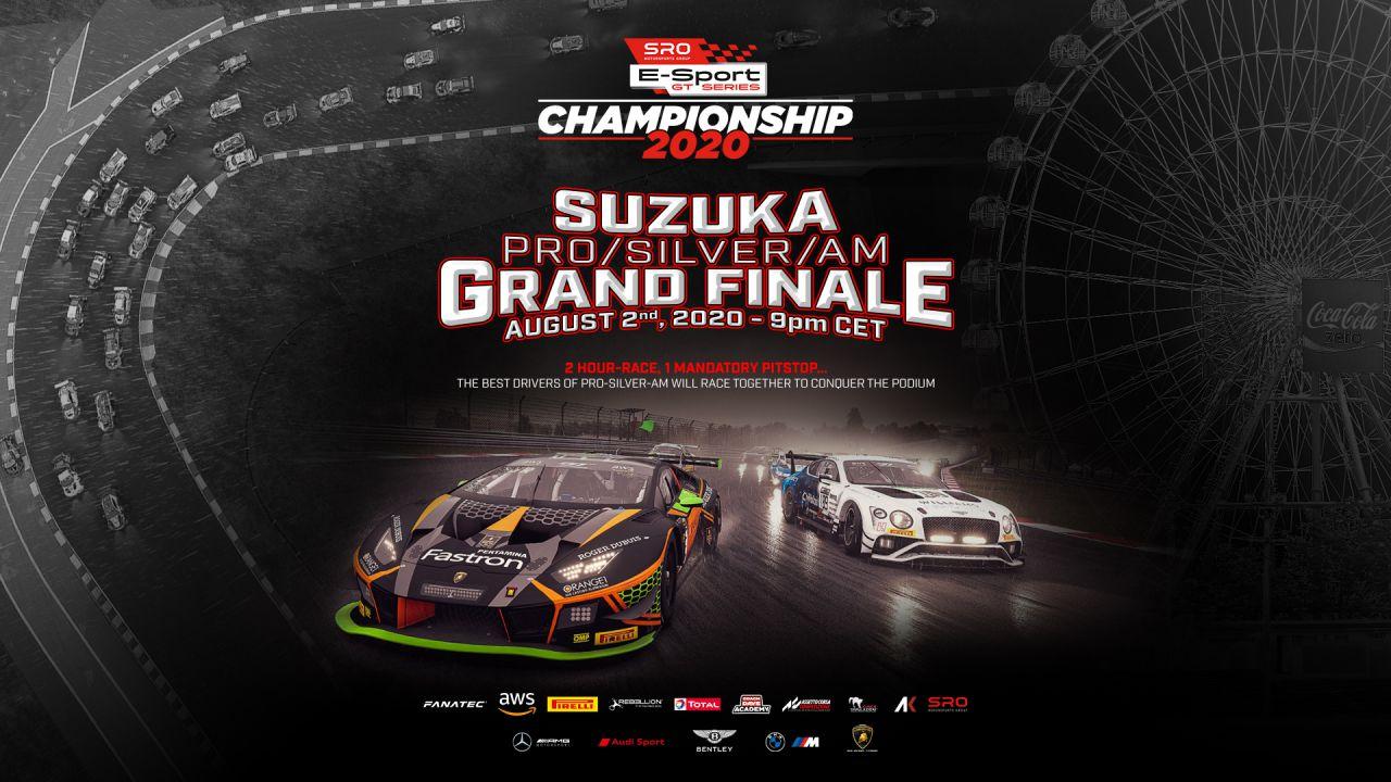 SRO E-SPORT GT SERIES - Il 2 agosto si terrà la Grand Finale a Suzuka
