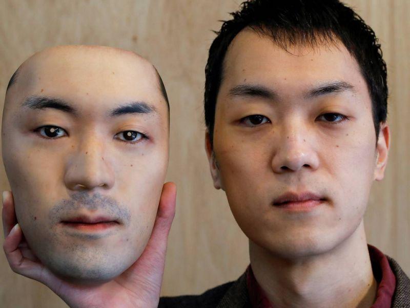 Stampa in 3D maschere ultra-realistiche usando volti reali: le foto sono quasi disturbanti