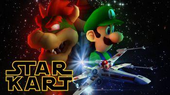Star Kart: ecco cosa succede quando Star Wars incontra Mario Kart