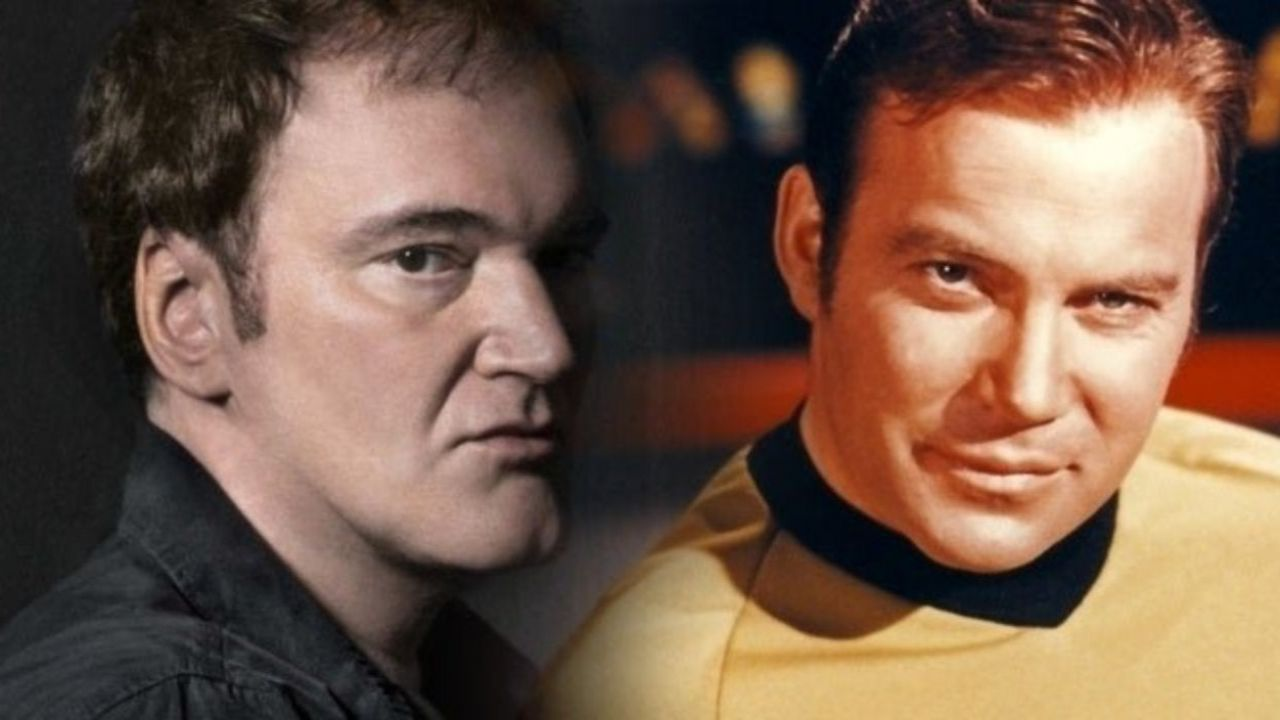Star Trek 4, William Shatner si scatena all'idea del film di Tarantino!