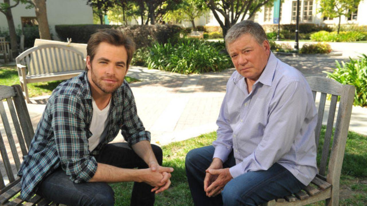 Star Trek: William Shatner vuole Chris Pine a interpretarlo in un film a lui dedicato