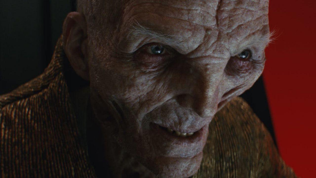 Star Wars: Andy Serkis commenta le origini di Snoke, ma forse si contraddice