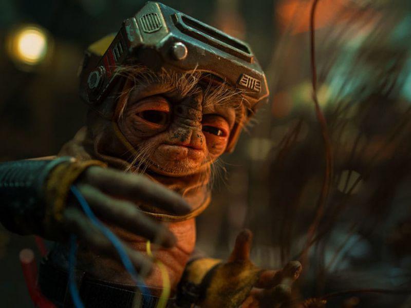 Star Wars: L'Ascesa di Skywalker, Babu Frik irriconoscibile nei concept originali