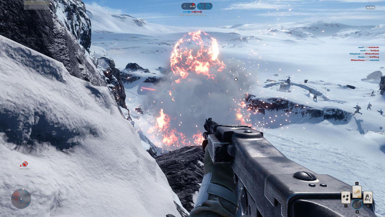Star Wars Battlefront Beta: video confronto tra le versioni PS4 e PC