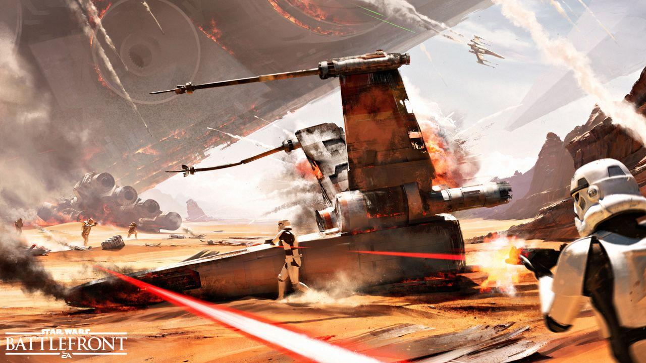 Star Wars Battlefront: DICE ha dato priorità alla fluidità rispetto risoluzione