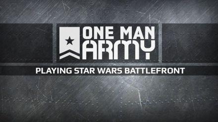 Star Wars Battlefront giocato da PAN1C in diretta su Twitch alle 16:00