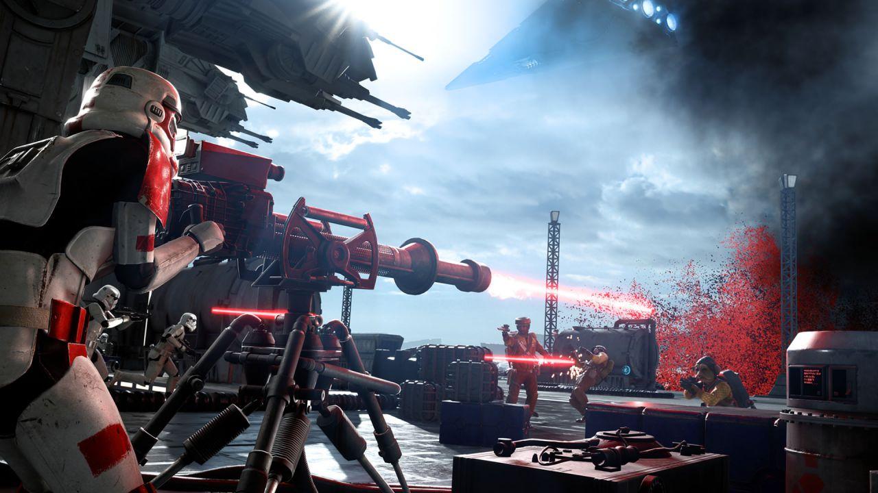 Star Wars Battlefront: Gli Stormtrooper tolgono il casco e DICE rivela le statistiche delle armi