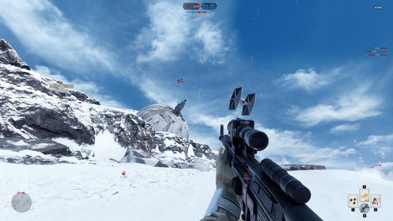 Star Wars Battlefront: immagini dalla closed alpha