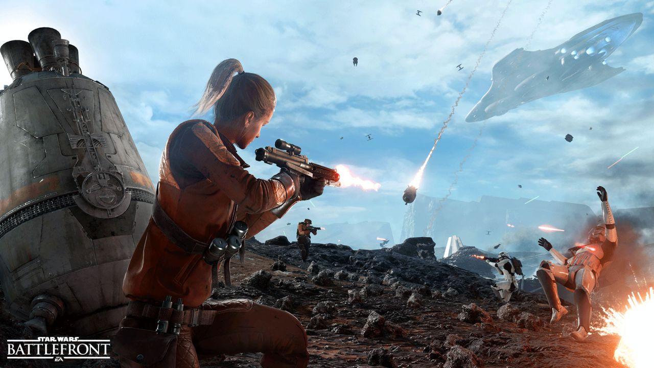 Star Wars Battlefront: svelata la nuova modalità Drop Zone