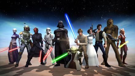 Star Wars Galaxy of Heroes disponibile su iOS e Android