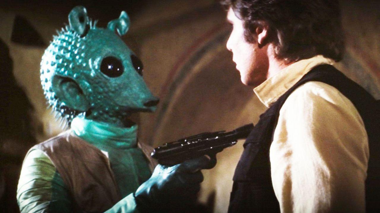 Star Wars, Han Solo spara a Greedo per legittima difesa: 'Per Lucas è sempre stato così'