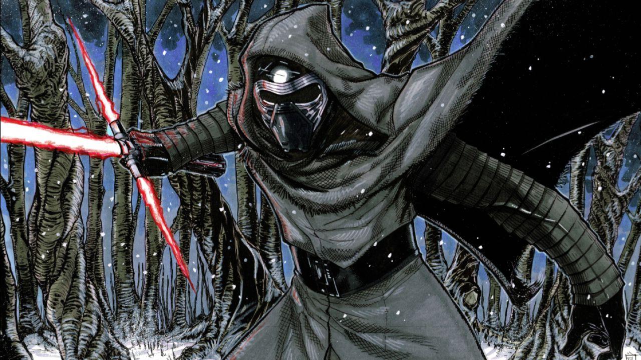 Star Wars: l'intenso scontro tra Rey e Kylo Ren si trasforma in un anime
