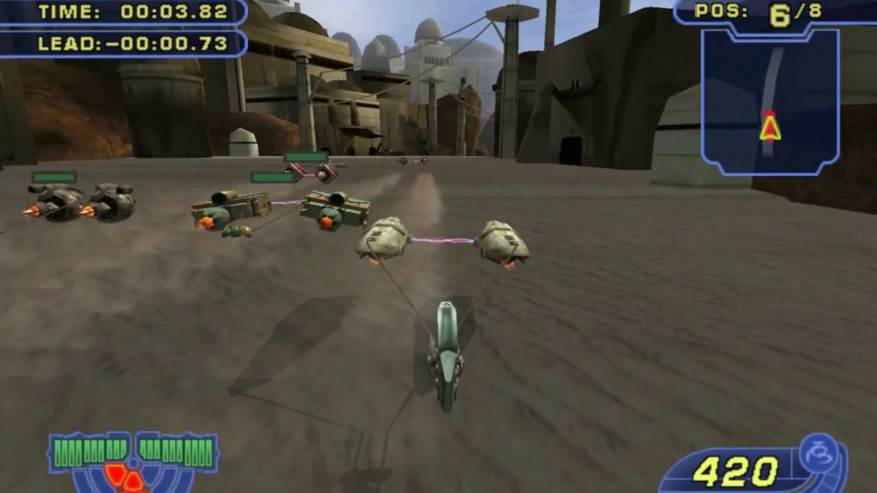 Star Wars Jedi Starfighter e Racer Revenge: video delle versioni PS2 emulate su PlayStation 4