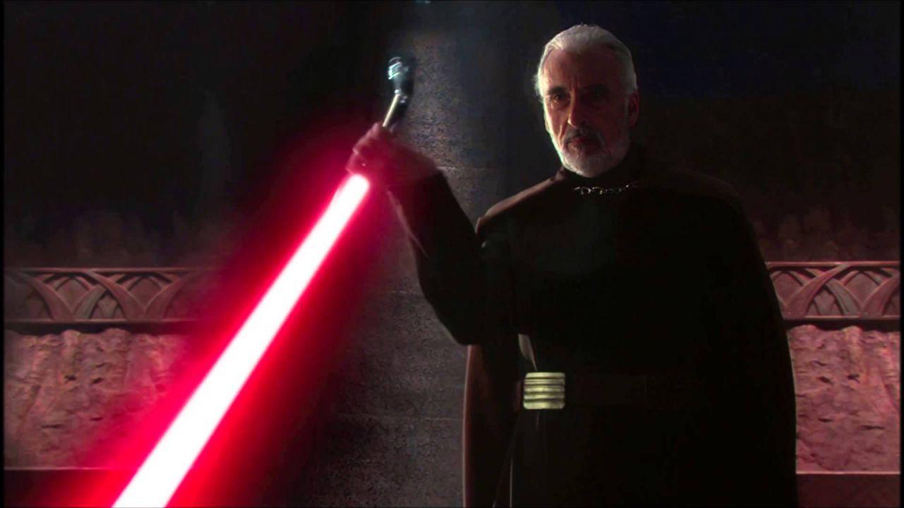 Star Wars, perché il conte Dooku aveva una spada laser curva?