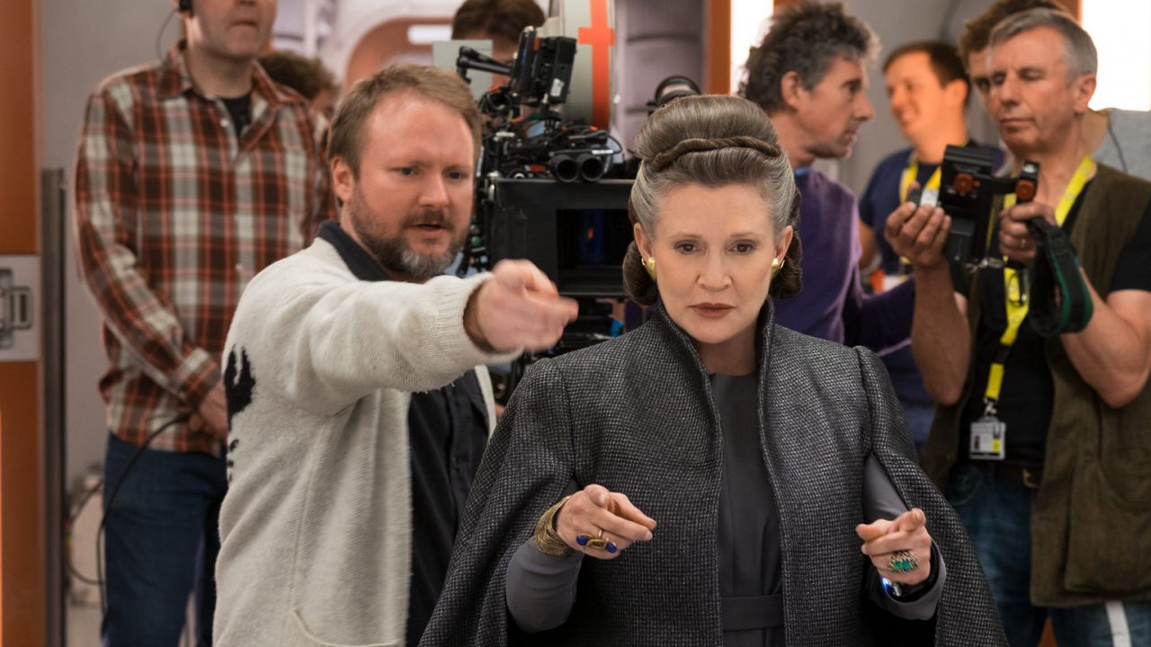 Star Wars: Rian Johnson nostalgico, pubblica foto di Carrie Fisher e di Episodio 8