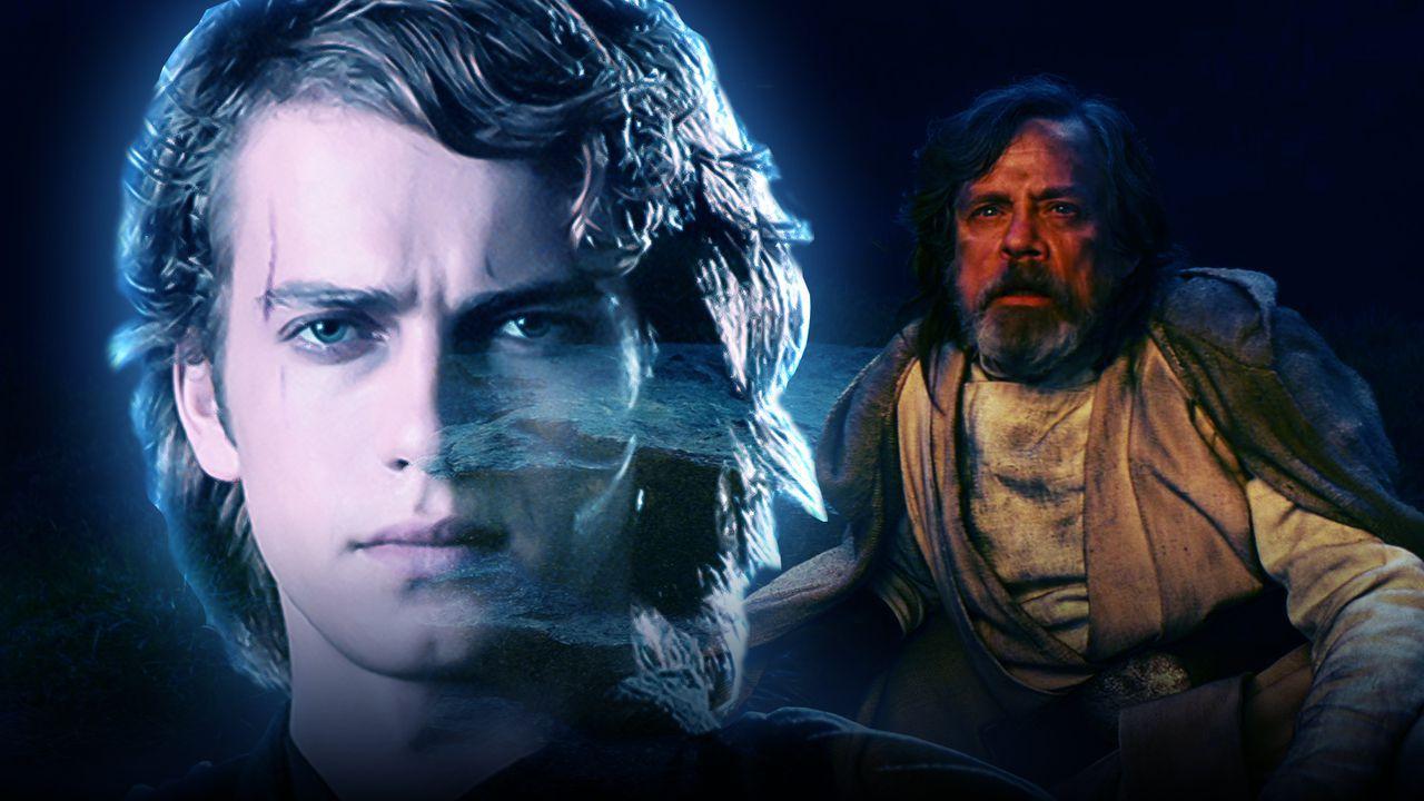Star Wars, Rian Johnson rivela: 'In The Last Jedi era previsto il cameo di Anakin'