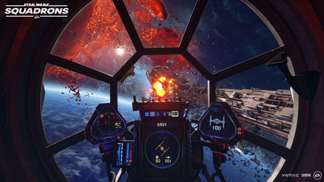 Star Wars Squadrons sarà venduto a prezzo budget: EA spiega perché
