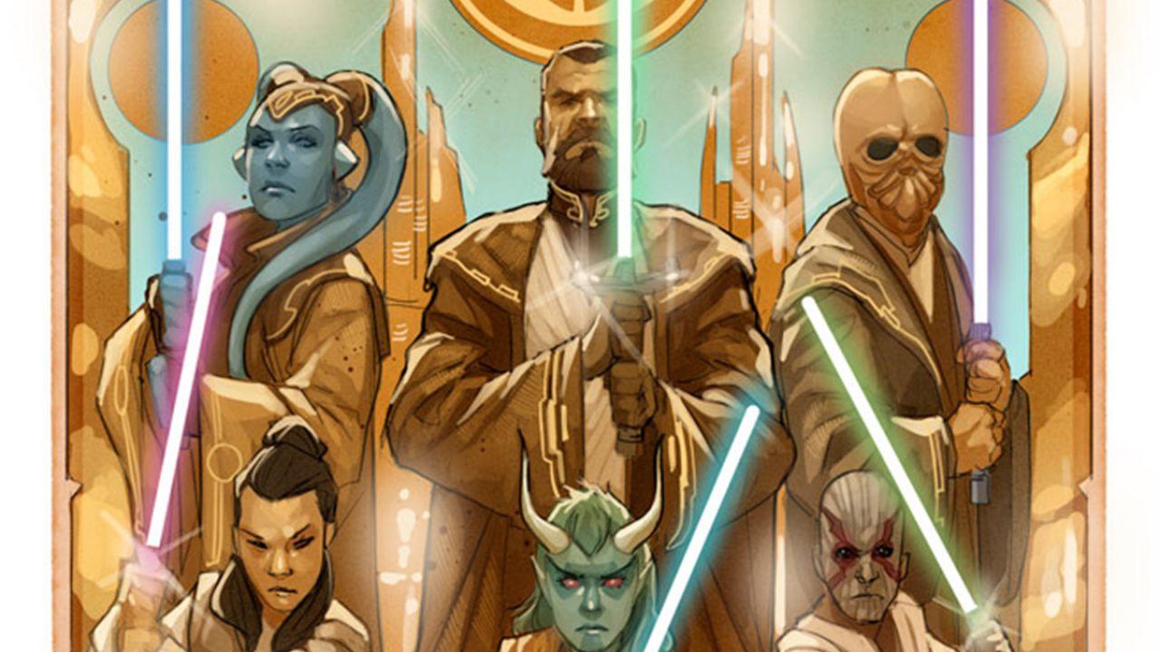 Star Wars: The High Republic, l'anteprima del primo volume rivela un nuovo Jedi
