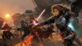 Star Wars: The Old Republic Knight of the Fallen Empire - Anarchy in Paradise debutterà a febbraio