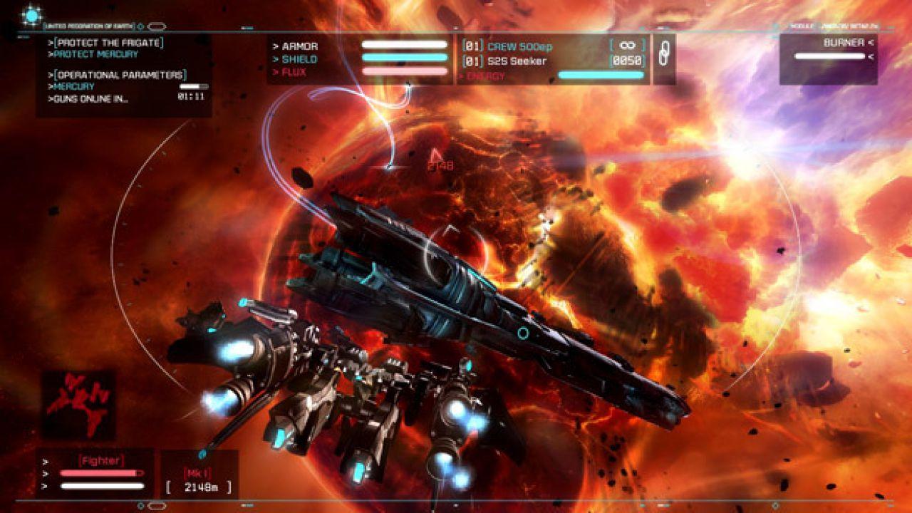 Steam: l'affare del fine settimana è Strike Suit Zero